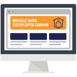 Your capital campaign communication plan should include creating a branded website for your campaign.