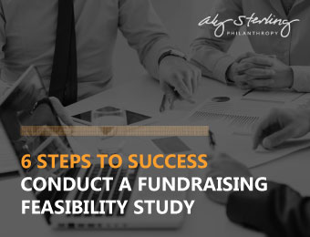 Conduct a successful feasibility study before commencing your capital campaign.