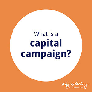What is a capital campaign?