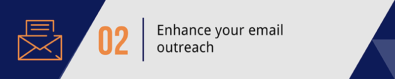 When planning your mobile giving strategy don't forget to enhance your email outreach.