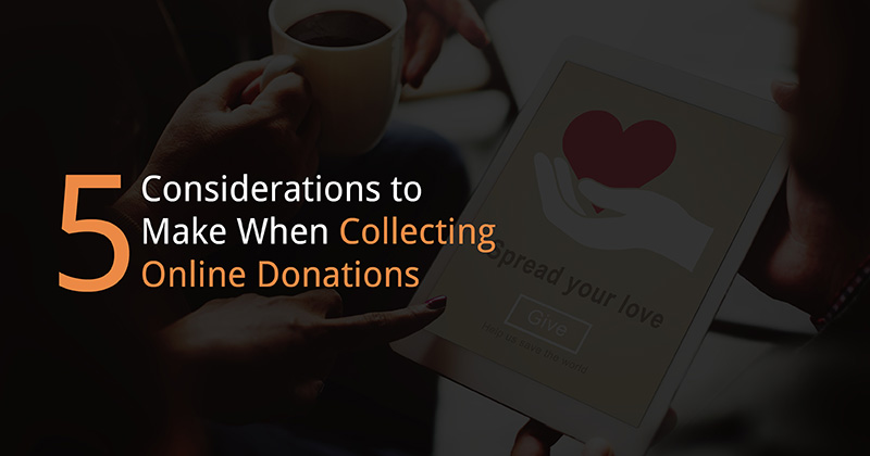 Online donations can open up your organization to a wealth of new fundraising opportunities.