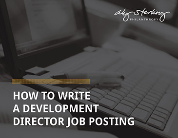 Learn more about hiring a development director!