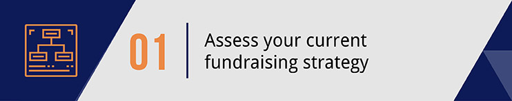 Assess your current fundraising strategy.