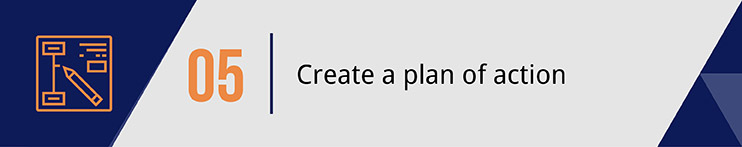 Create a plan of action.