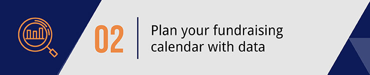 Plan your fundraising calendar with data.