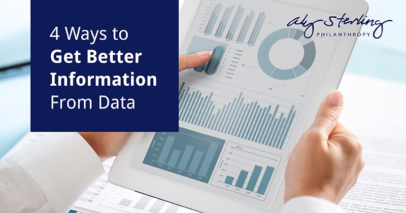 Get better information from your data.