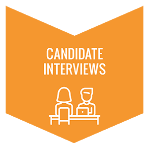 Set aside 3 months in your nonprofit succession plan for candidate interviews.
