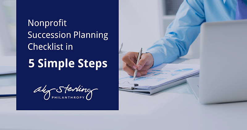 Create your next succession plan with our nonprofit succession planning checklist.