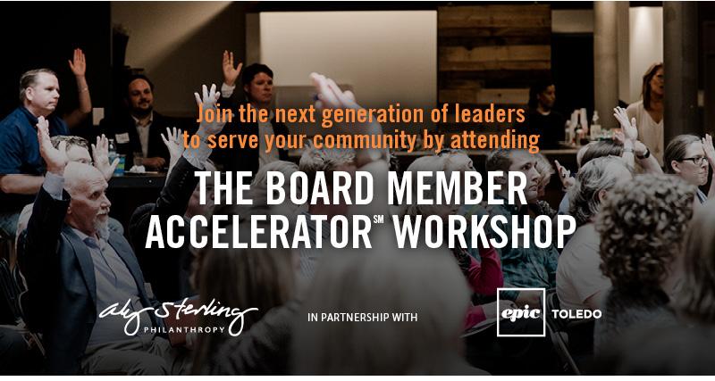 The Board Member Accelerator Workshop