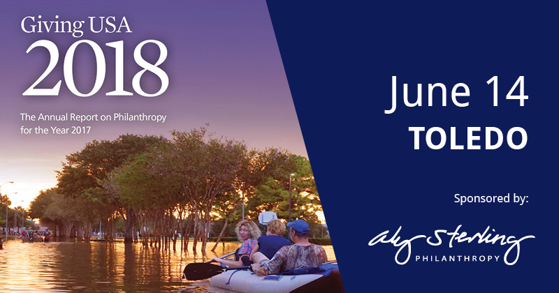 Join us on June 14 for Giving USA 2018