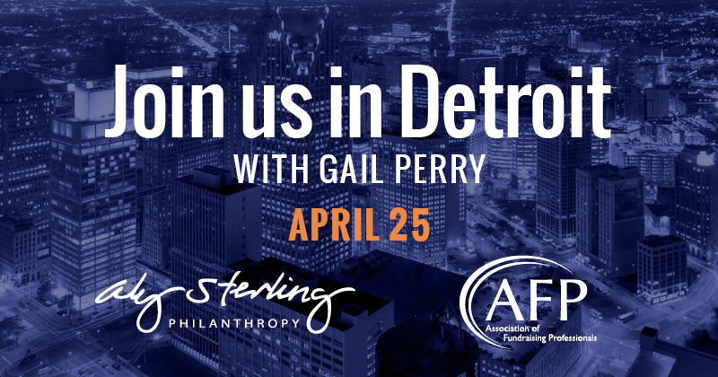 Don't miss Gail Perry, register by Friday!