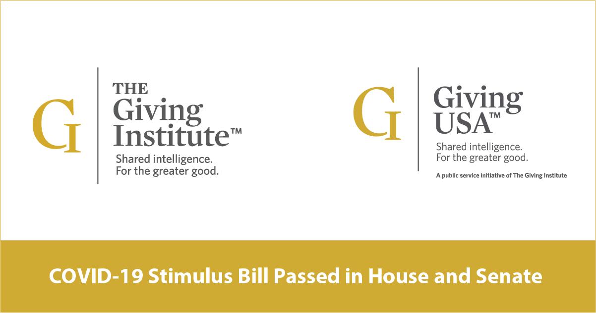 COVID-19 Stimulus Bill Passed in House and Senate