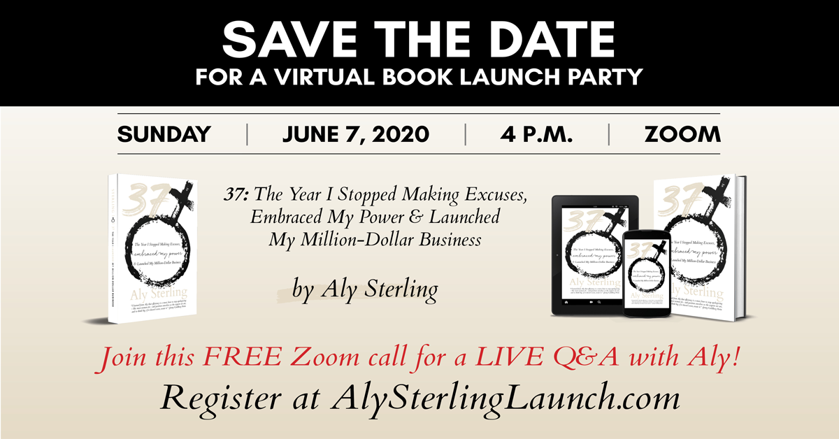 Save the Date for a Virtual Book Launch Party