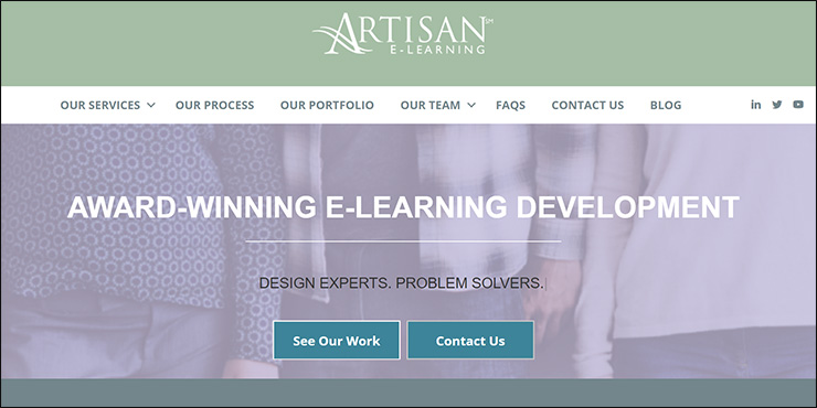 Check out the Artisan E-Learning website to learn more about their nonprofit consulting services.