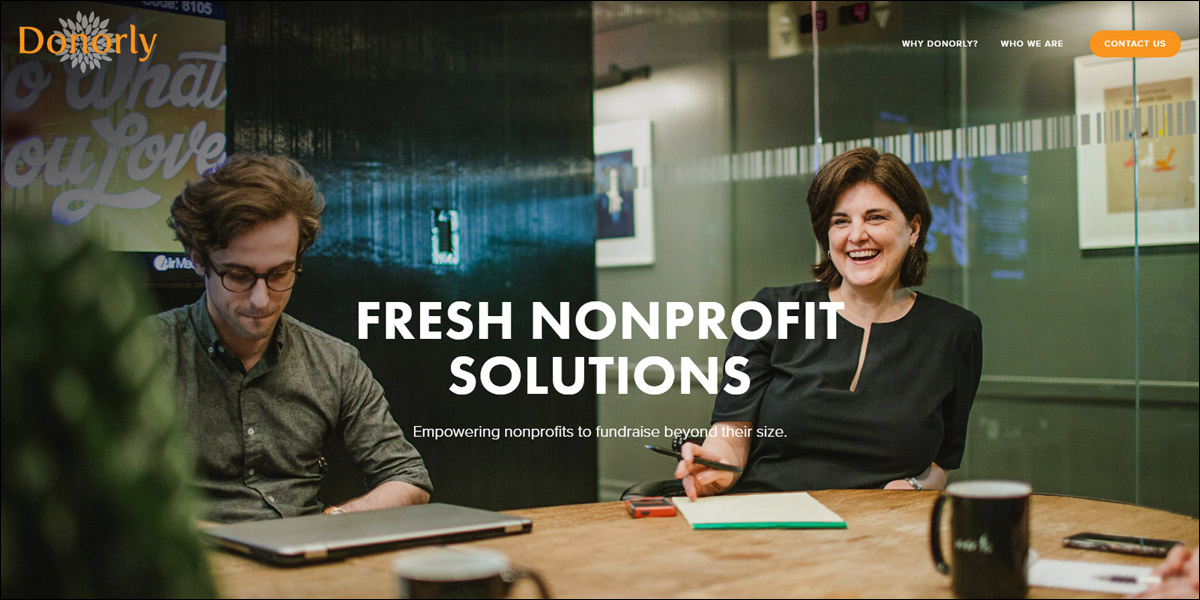 Visit Donorly's website for more information about their nonprofit consulting services.