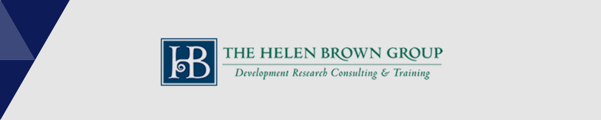 The Helen Brown Group is the best nonprofit consultant for prospect research.