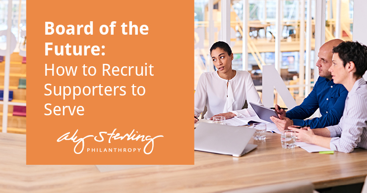 This is the feature image for this article about recruiting supporters to serve on your nonprofit board.