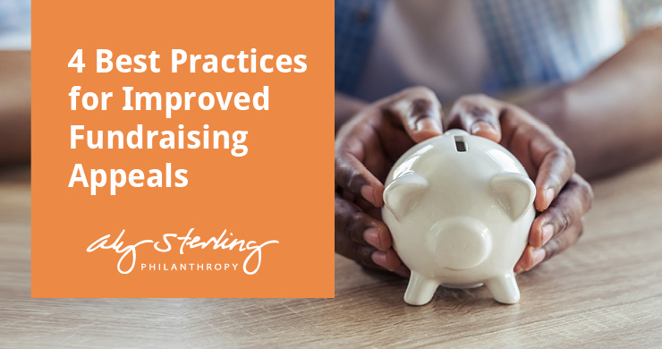 This is the feature image for this article about best practices for improved fundraising appeals.