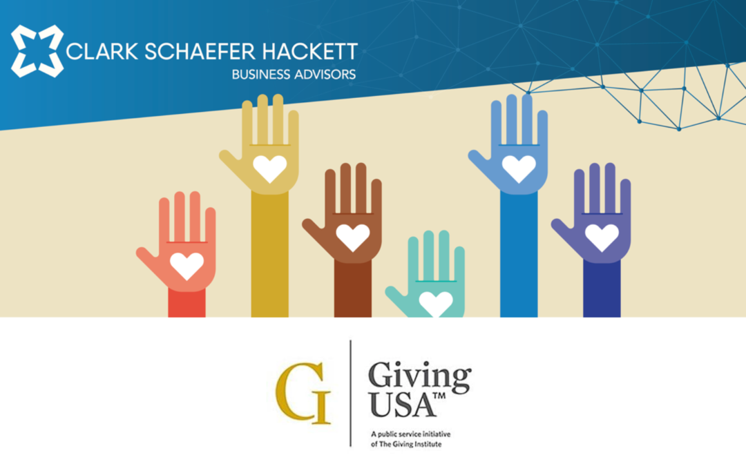 Join us for a free Giving USA 2021 briefing
