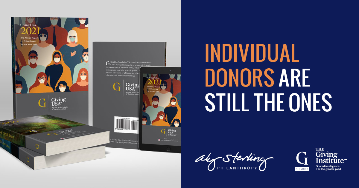 Individual donors are still the ones