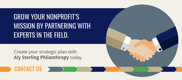 Create your nonprofit strategic plan with the help of Aly Sterling Philanthropy!