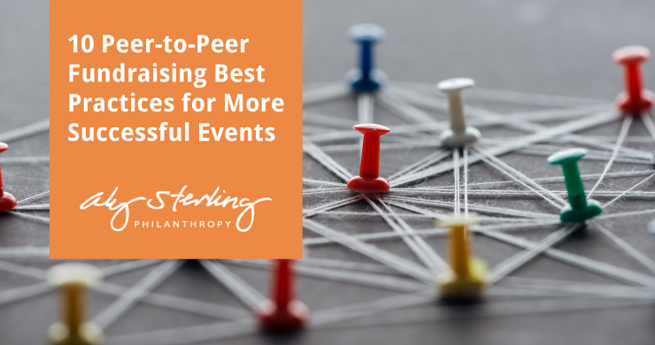 Read this article for 10 peer-to-peer fundraising best practices for better events.