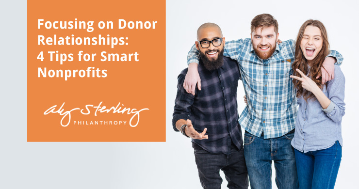 This article provides four tips for creating better relationships with your donors.